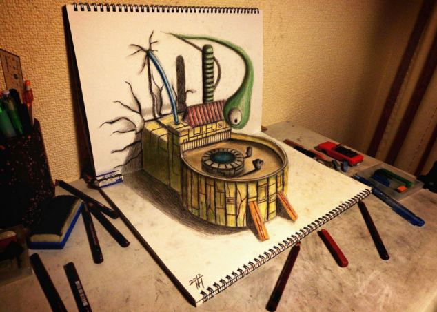 Nagai Hideyuki 3D Art